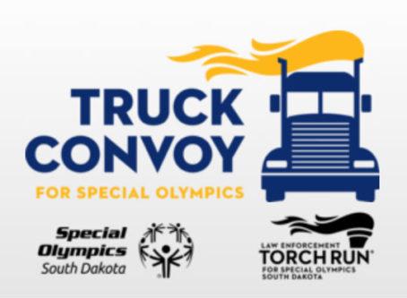 South Dakota Truck Convoy for Special Olympics