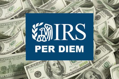 IRS per diem