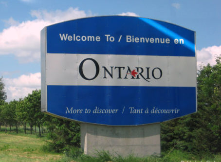 Welcome in Ontario