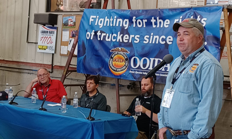 Town Hall event presented by OOIDA at the Guilty By Association Truck Show