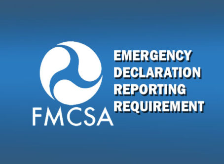 FMCSA emergency declaration reporting requirement due Oct. 5