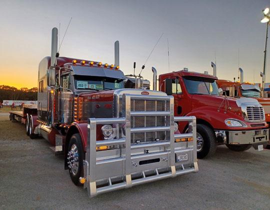 GBATS 2021 show trucks
