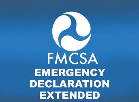 Emergency declaration, hours-of-service, FMCSR 395.3