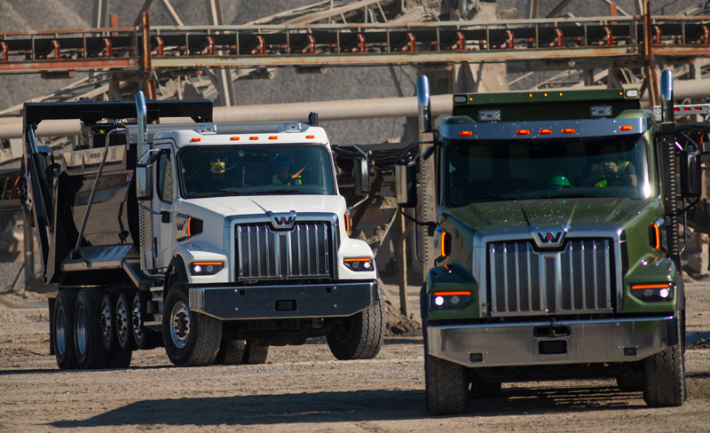 Western Star 47X is aimed at vocational applications like dump trucking.