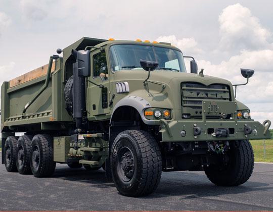 M917A3military HDT (heavy duty dump) truck