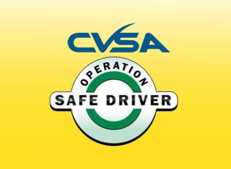 CVSSA Operation Safe Driver Week