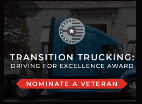 Transition Trucking: Driving for Excellence award