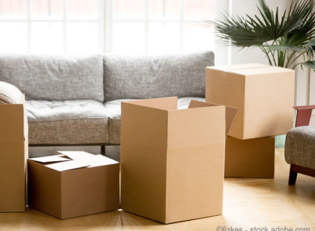 Household goods to be moved