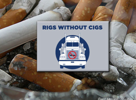 Rigs Without Cigs, a program of the St. Christopher Truckers Relief Fund